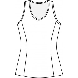 Scoop Neck Tank Top - Design your own