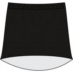 HiLo Skort - Black Solid