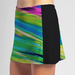 Slimming Panel Skort - Candy Crush w/ Black side panels