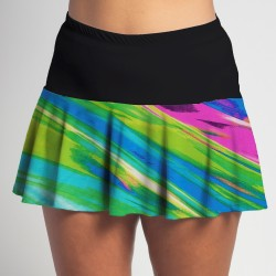 Flounce Skort - Candy Crush w/ Black