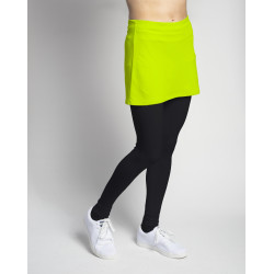 Legging with tennis ball pocket - Black