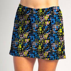Sporty Skort - Stained Glass