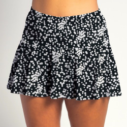 Flounce Skort - Scattered Dots all over