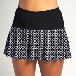 Flounce Skort - Criss Cross w/Black Top