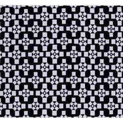 BW Criss Cross fabric swatch