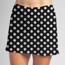 Sporty Skort - BW Mini Dot