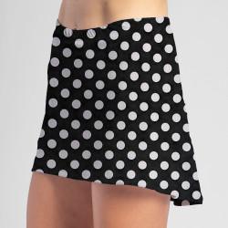 HiLo Skort - BW Mini Dot