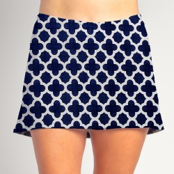 HiLo Skort - Navy Medallion