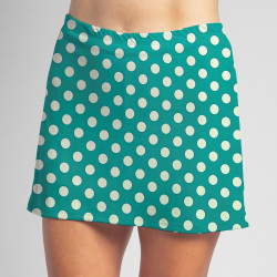Sporty Skort - Jade Dot