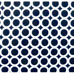 BW Circle fabric swatch