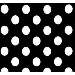 BW Mini Dot fabric swatch