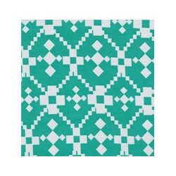 Jade Geometric fabric swatch