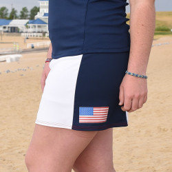 Slimming Panel Skort - USA