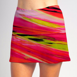 Sporty Skort - Aurora Waves