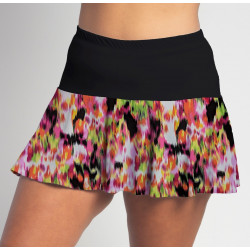 Flounce Skort - Citrus Blast with Black top