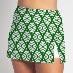 Side Slit Skort - Luck o the Green