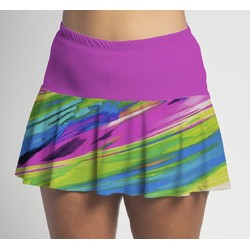 Flounce Skort - Candy Crush w/Pink