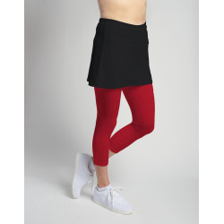Capri (separate) with tennis ball pocket - Red