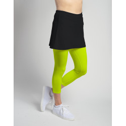Capri (separate) with tennis ball pocket - Neon
