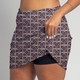 Golf/Walking Zipper Pocket Skort - Midnight Zinnia