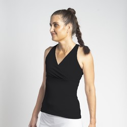 Racerback Top - Black