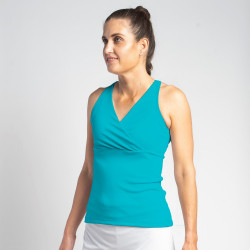 Racerback Top - Turquoise