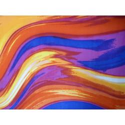 Sunset Swirl fabric swatch