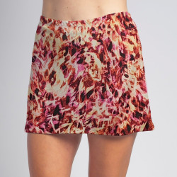Sporty Skort - Fire TieDye