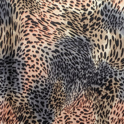 Blush Cheetah fabric swatch