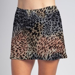 Sporty Skort - Blush Cheetah