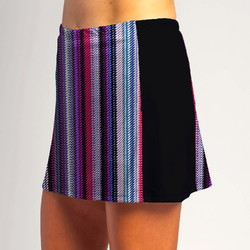 Slimming Panel Skort - Tread Lightly w/ Black side panels