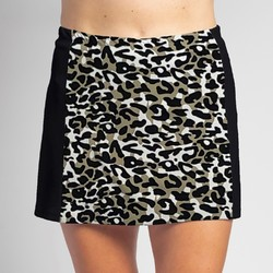 Slimming Panel Skort - Jaguar with Black