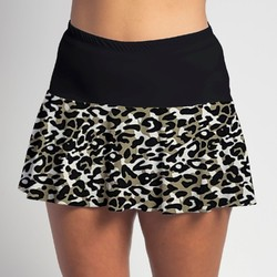 Flounce Skort - Jaguar with Black