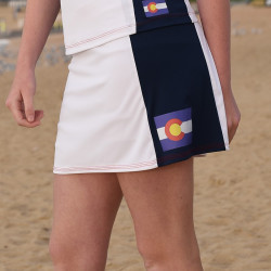 Slimming Panel Golf Skort - Colorado