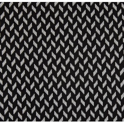 BW Chiclet fabric swatch