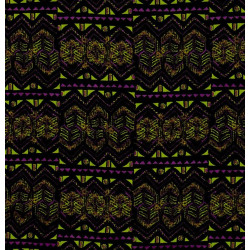 Mardi Gras fabric swatch
