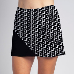 Bias Skort - BW Diamond w/Black