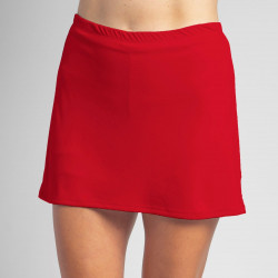 Sporty Skort - Red Solid