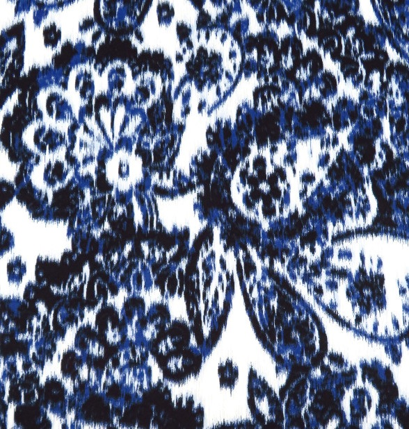 Denim Paisley