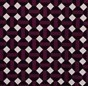 Burgundy Checkerboard