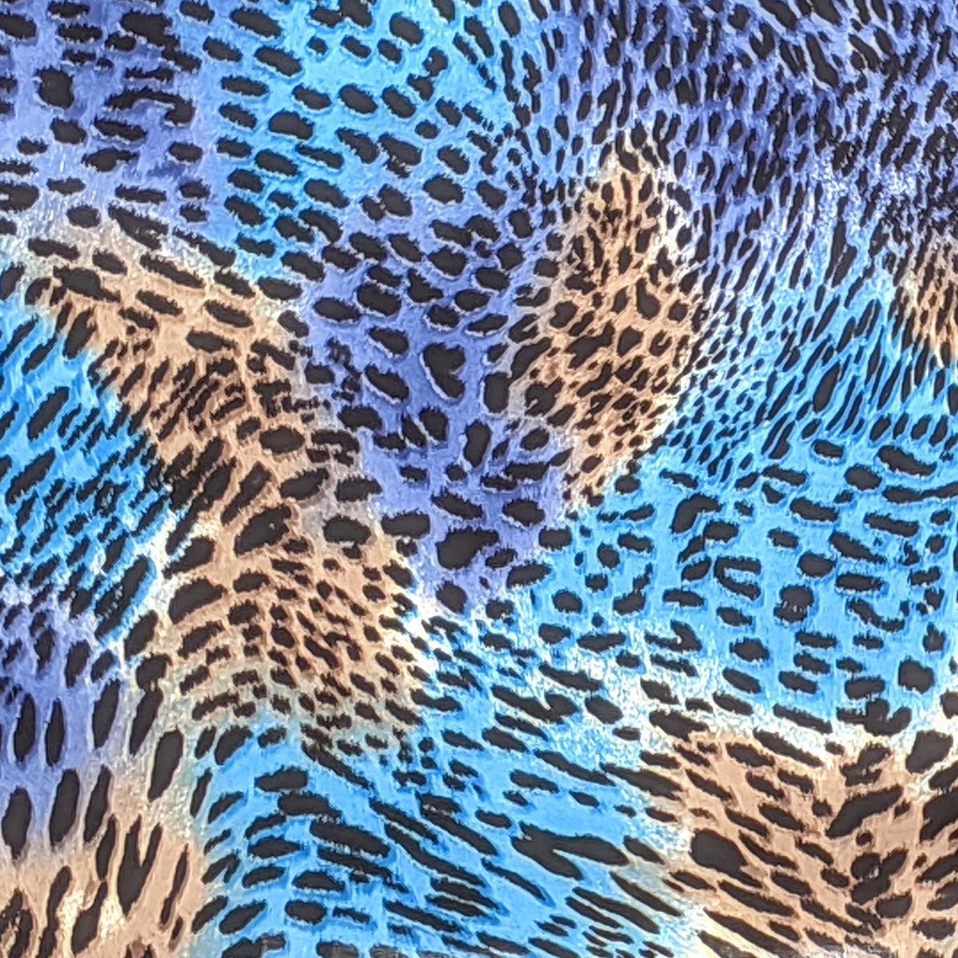 Turquoise Cheetah